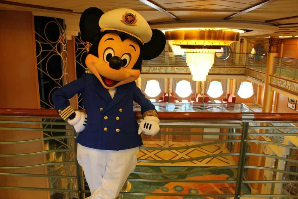 Mickey on the Disney Magic - things you need to do after booking a Disney cruise.