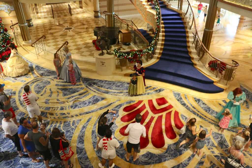 Disney Cruise character meet-n-greets that you can book in advance.