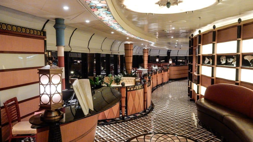 Palo is a specialty dining restaurant for adults only that is available on all ships for an extra charge.