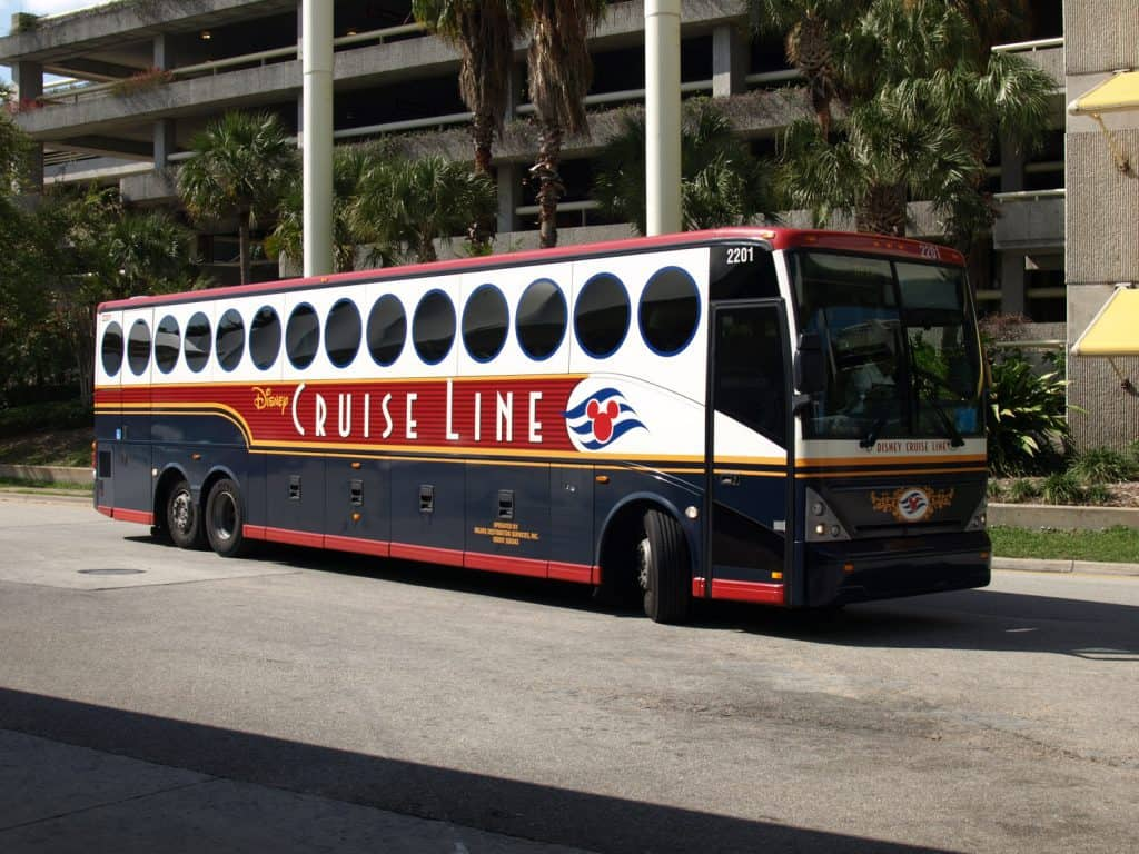 Transportation to the pier is not included on a Disney cruise but can be added for an extra charge.