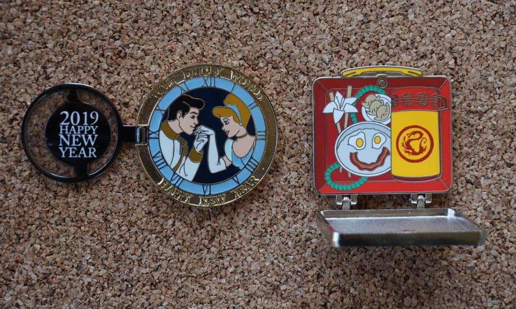 Limited edition Disney trading pins example