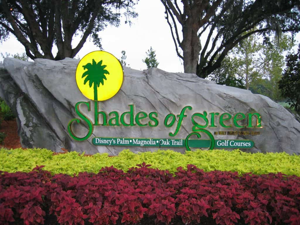 Shades of Green Car Rental Locations on Property
